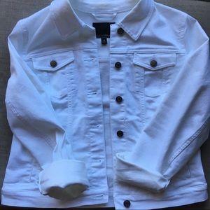 White Banana Republic Denim Jacket